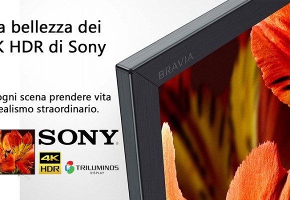 Nuovi Display Sony 4K HDR