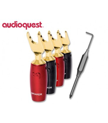 Connettori a Forcella Audioquest serie 500 Gold