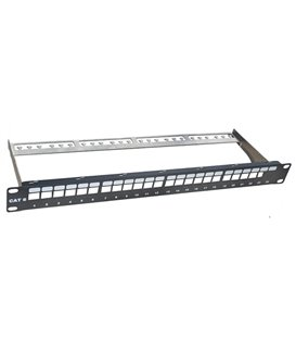 Patch panel 24 porte senza frutti